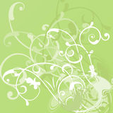 Abstract floral background, vector Stock Photo