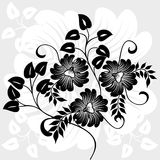Abstract floral background, vector Stock Photos