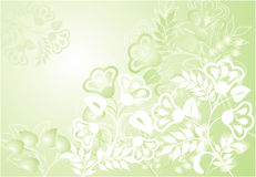 Abstract floral background, vector Royalty Free Stock Photography