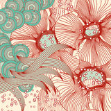 Abstract floral background. Vector abstract. Flowers . EPS 10 Royalty Free Stock Photos
