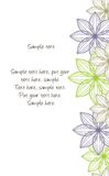 Abstract floral background. Vector illustration of the Abstract floral background royalty free illustration
