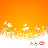 Abstract floral background, vector Stock Image