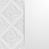 Abstract floral background. Vector illustration Royalty Free Stock Images