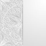 Abstract floral background. Vector illustration Stock Photo