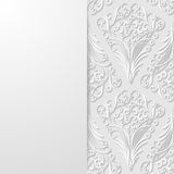 Abstract floral background. Vector illustration Royalty Free Stock Image