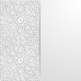 Abstract floral background. Vector illustration Stock Image
