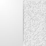 Abstract floral background. Vector illustration Royalty Free Stock Photography