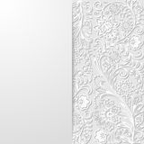 Abstract floral background. Vector illustration Stock Images