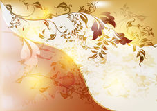 Abstract floral background in vintage style Stock Photo