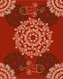 Abstract floral background. In warm colours for your ideas Royalty Free Stock Images