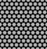 Seamless six patel floral pattern design Stock Images