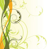 Abstract Floral Background With Free Space Your Te Stock Photos