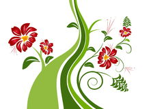 Free Abstract Floral Background With Place For Your Te Royalty Free Stock Photo - 8074295