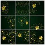 Abstract floral  backgrounds. Abstract floral backgrounds - an illustration for yor design project. Very easy to edit  file Vector Illustration