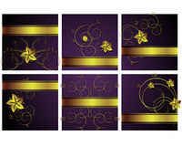 Abstract floral backgrounds. An illustration for yor design project. Very easy to edit file Vector Illustration