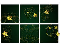 Abstract floral backgrounds. An illustration for yor design project. Very easy to edit file Royalty Free Illustration