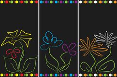 Abstract floral backgrounds Royalty Free Stock Photo