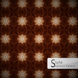Abstract floral Brown rope mesh sparkling diamond vintage  Stock Photos