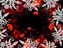 Abstract floral chaos Royalty Free Stock Photo