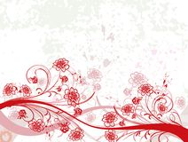 Abstract floral chaos Stock Image