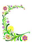 Abstract floral decoration Stock Photography
