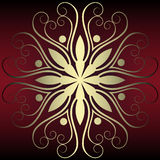 Abstract floral decoration Stock Photos