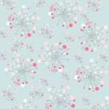Abstract floral decoration, seamless pattern Stock Photo