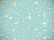 Abstract Floral Decorative Background Royalty Free Stock Photos