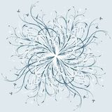 Abstract floral decorative background vector illustration artwor Royalty Free Stock Photo