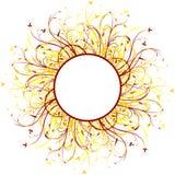 abstract floral decorative background vector illustration artwork stock illustration