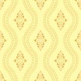 Abstract floral decorative batik seamless pattern. Abstract floral seamless pattern of indonesian batik Royalty Free Stock Image