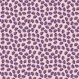 Abstract floral decorative batik seamless pattern. Abstract seamless pattern of indonesian batik Stock Images