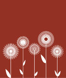 Abstract floral design Royalty Free Stock Photos