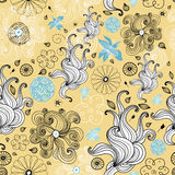 Abstract and floral design Royalty Free Stock Photography