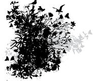 Abstract floral design vector illustration