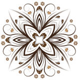 Abstract  floral design. Beautiful abstract  floral design Royalty Free Stock Image