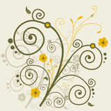 Abstract Floral Design Stock Image