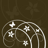 Abstract floral design Royalty Free Stock Photography