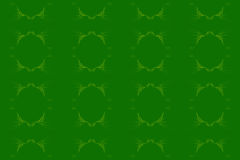 Abstract. Floral design blend of lines and dots of dark green background, design / ornament of leaves / plants with a combination of greenish yellow color Stock Photos
