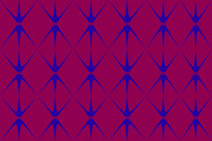 Abstract. Floral design blend of lines and dots of dark purplish red background, leaf / flower / plant design / ornament with gradation of dark blue and purple Royalty Free Stock Photography