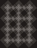 Abstract. Floral design combination of lines and dots grayish black, dark gray, bright gray color to form a design or ornament boxes and exquisitely charming Stock Photo