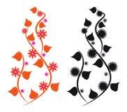 Abstract floral design Stock Photos