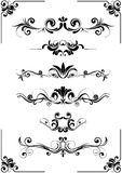 Abstract floral design ornament Royalty Free Stock Photos