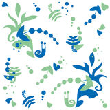 Snail, pattern Royalty Free Stock Photos