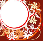 Abstract floral design. Vector Royalty Free Stock Photos