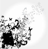 Abstract floral element for design Stock Image