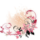 Abstract floral element for design Stock Photos