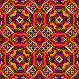 Abstract floral  ethnic seamless pattern Stock Images