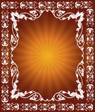 Abstract Floral Frame. Background Border Stock Photography