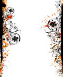 Abstract floral frame Stock Image